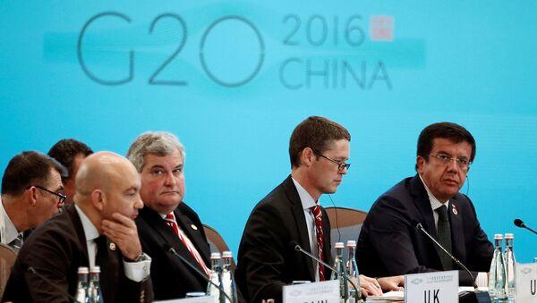 Cumbre del G20, 9 de julio de 2016 - Sputnik Mundo