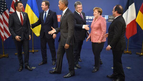 La cumbre de la OTAN en Varsovia - Sputnik Mundo