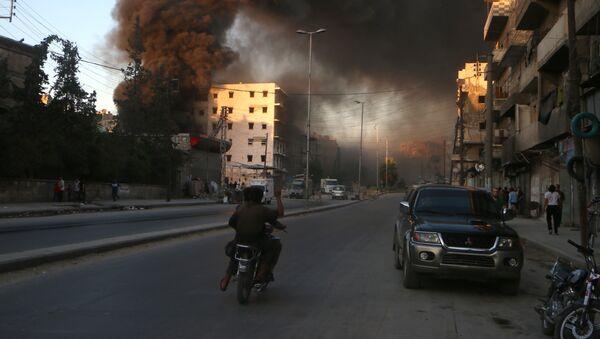 Bombardeos en Alepo - Sputnik Mundo