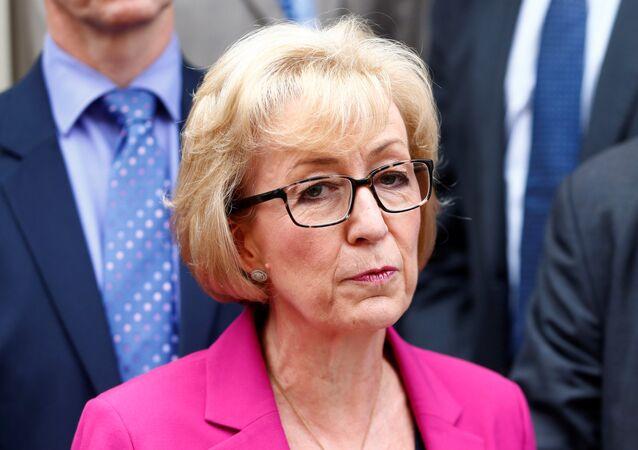 Andrea Leadsom, secretaria británica de Estado en Energía