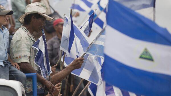 Banderas de Nicaragua - Sputnik Mundo