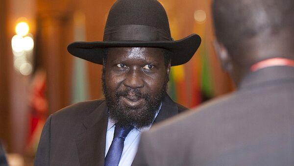 Salva Kiir, el presidente sursudanés - Sputnik Mundo