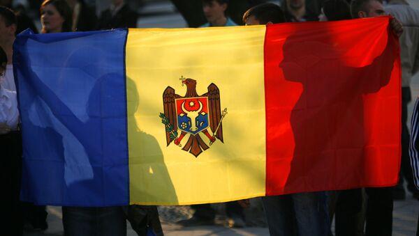 La bandera nacional de Moldavia - Sputnik Mundo