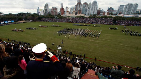 Celebración del Bicentenario argentino - Sputnik Mundo