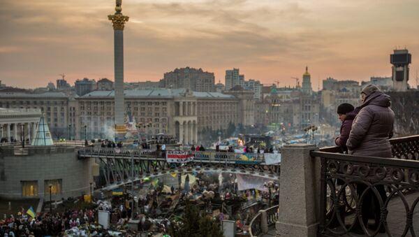 Euromaidán en Kiev, 2014 - Sputnik Mundo