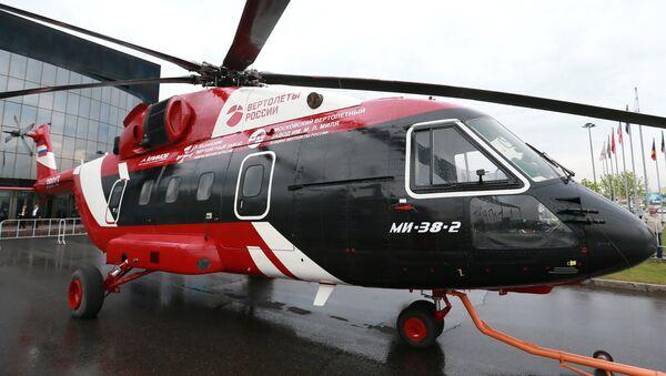El helicóptero ruso Mi-38 - Sputnik Mundo