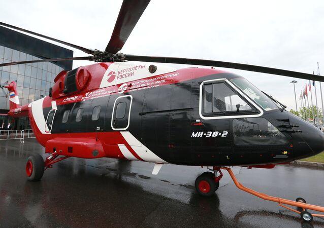 El helicóptero ruso Mi-38