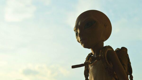 Un extraterrestre (imagen referencial) - Sputnik Mundo