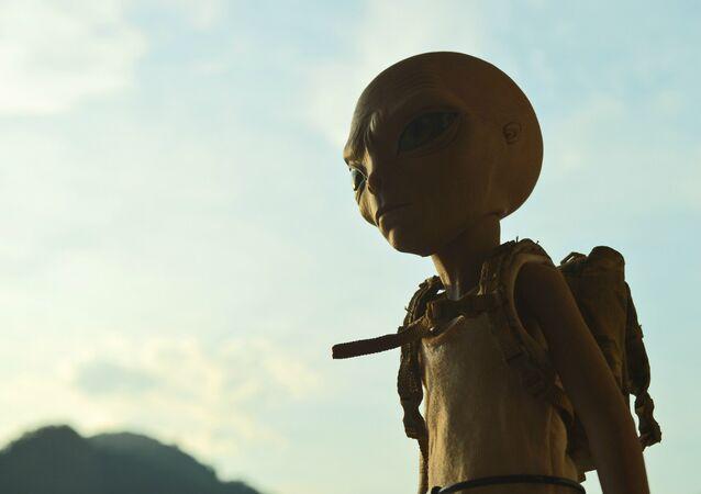 Un extraterrestre (ilustración)