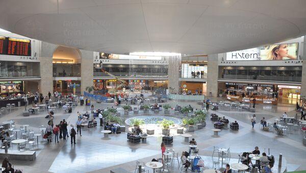 El aeropuerto internacional Ben Gurión en Tel-Aviv - Sputnik Mundo