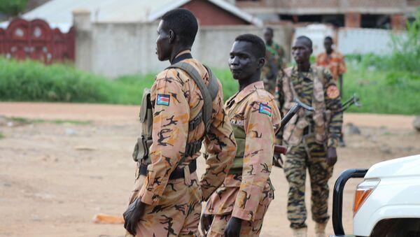 Policía de Sudán del Sur - Sputnik Mundo