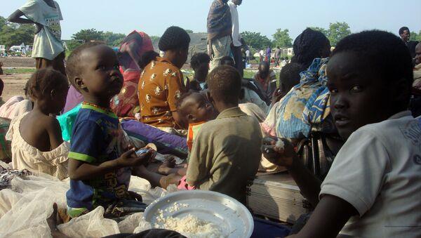 Familias desplazadas en Sudan del Sur - Sputnik Mundo