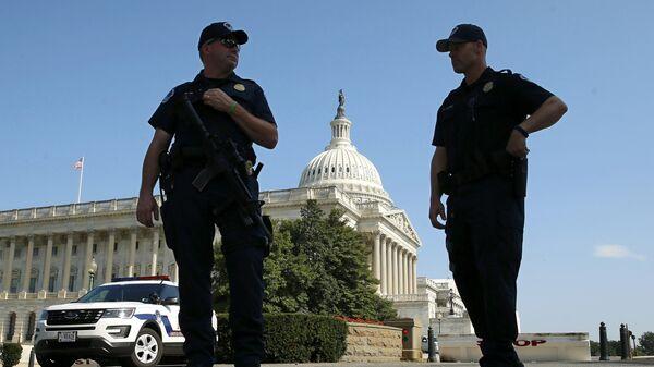 Policía del Capitolio, EEUU - Sputnik Mundo