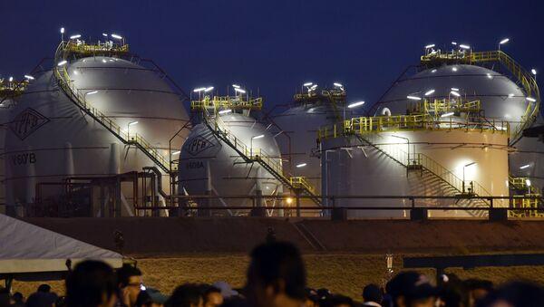 Una planta de gas boliviana (archivo) - Sputnik Mundo