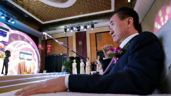 Wang Jianlin, el empresario chino - Sputnik Mundo