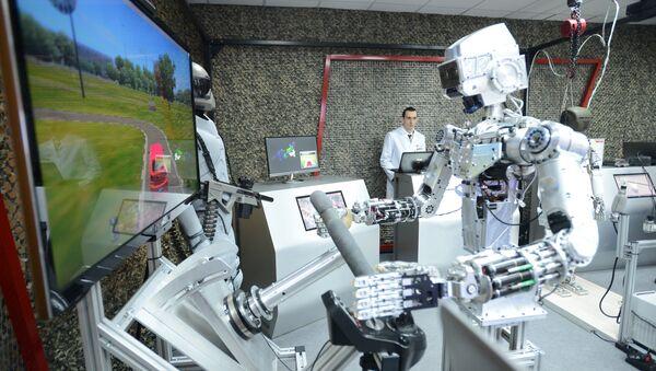 Un robot ruso  (imagen referencial) - Sputnik Mundo