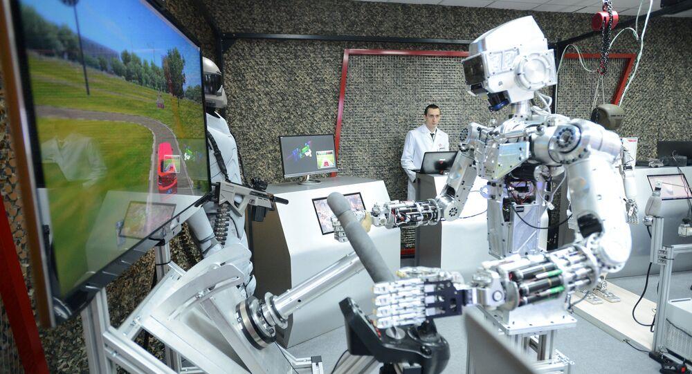 Un robot ruso (imagen referencial)