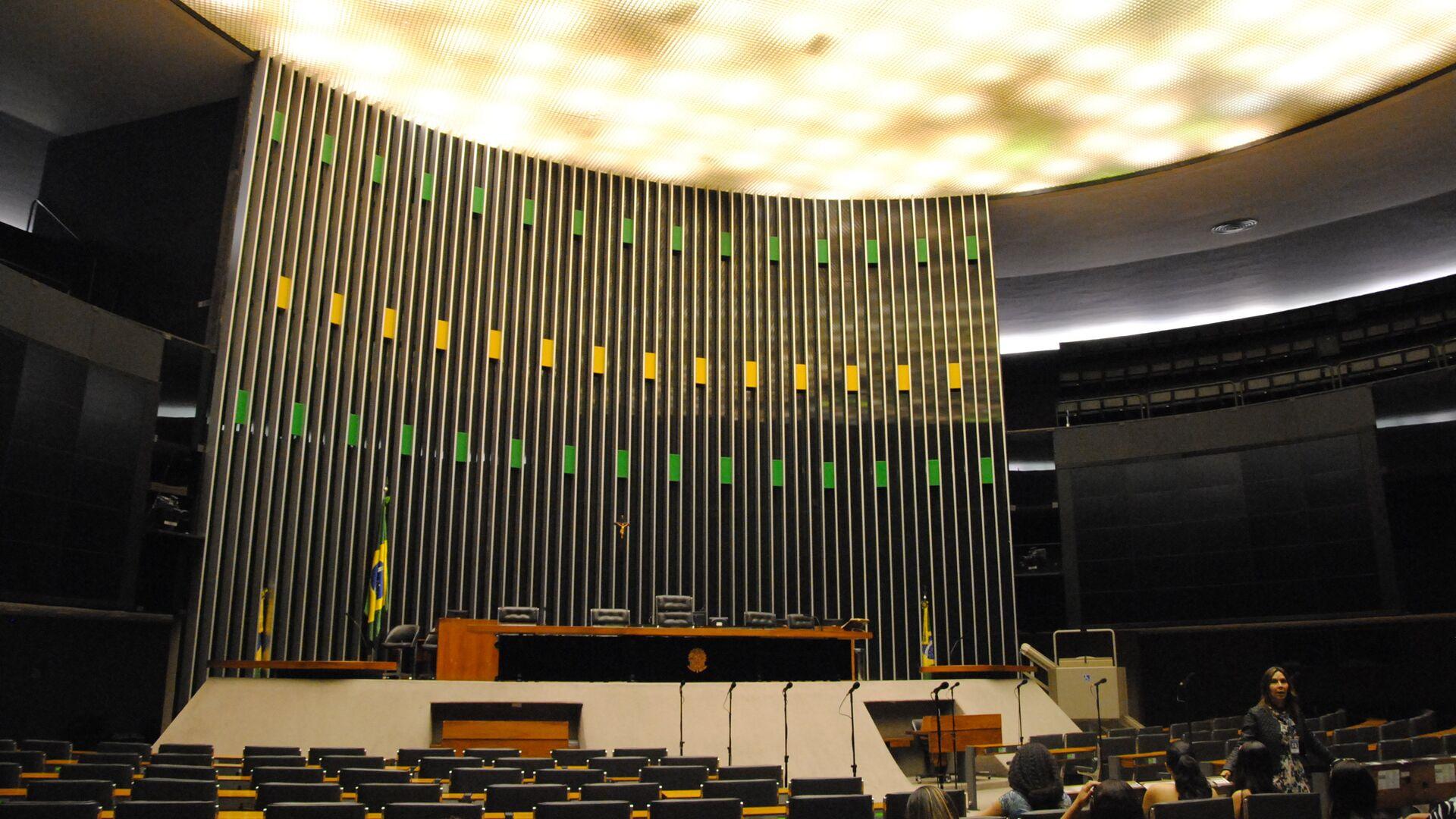 Cámara de Diputados de Brasil - Sputnik Mundo, 1920, 21.06.2021
