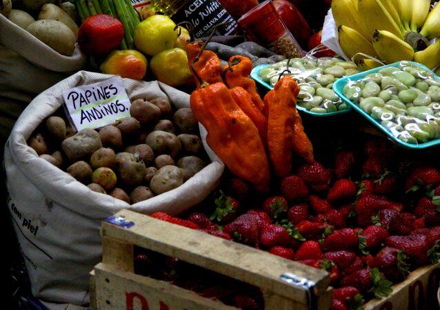 Mercado en Buenos Aires