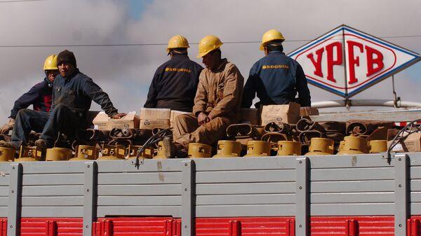 Trabajadores de YPFB - Sputnik Mundo