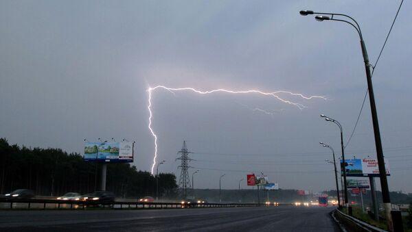 Moscú, azotada por una tormenta - Sputnik Mundo