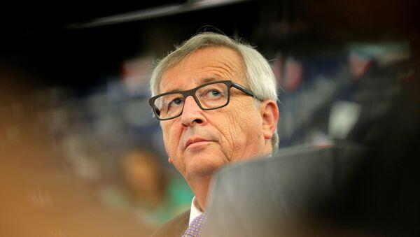 Jean-Claude Juncker, actual presidente de la Comisión Europea - Sputnik Mundo