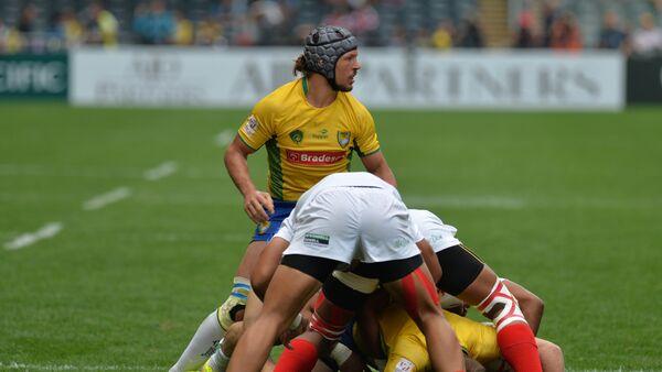 Un partido de rugby, foto referencial - Sputnik Mundo