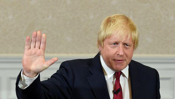 Boris Johnson, ministro de Asuntos Exteriores del Reino Unido - Sputnik Mundo