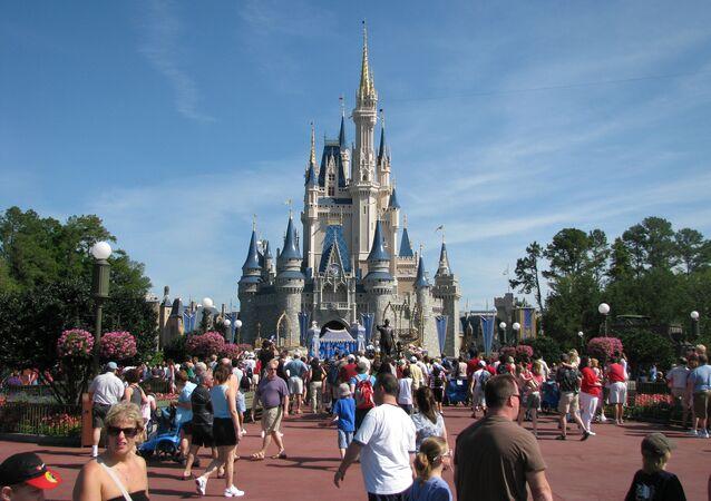 El parque temático de Disney