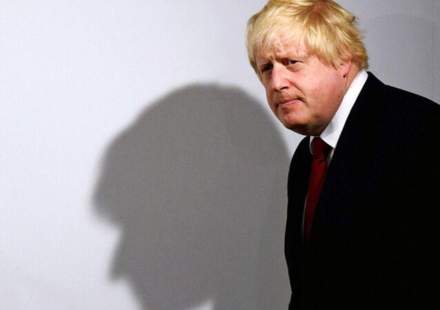 El excanciller del Reino Unido, Boris Johnson