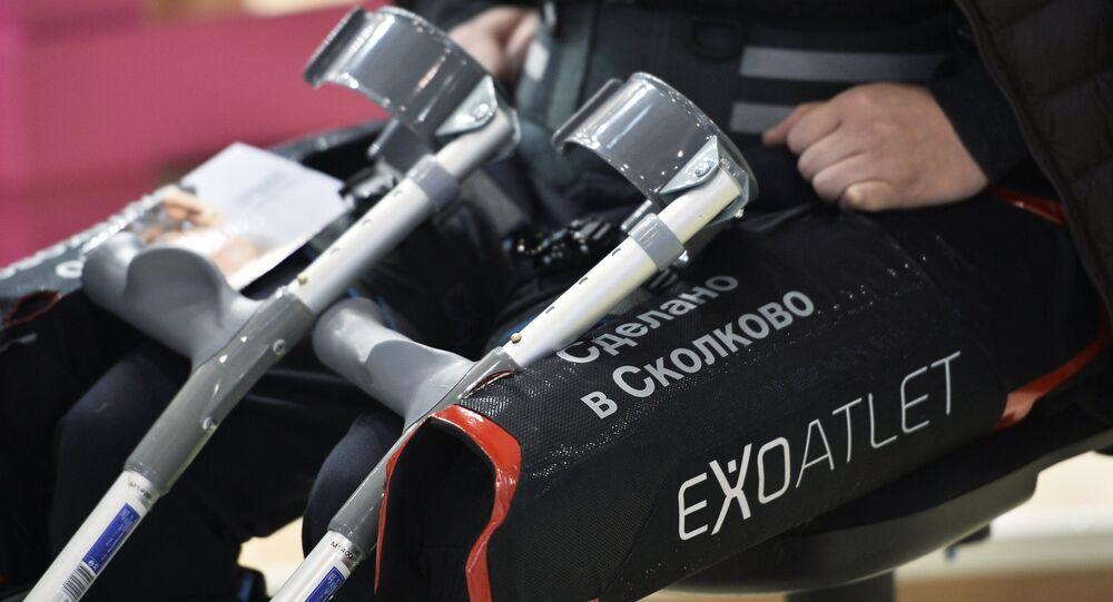 ExoAtlet, exoesqueleto médico ruso