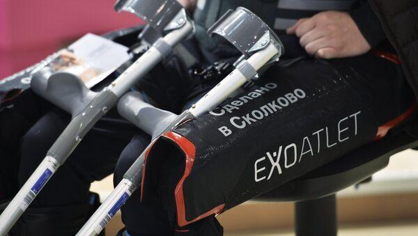 ExoAtlet, exoesqueleto médico ruso - Sputnik Mundo