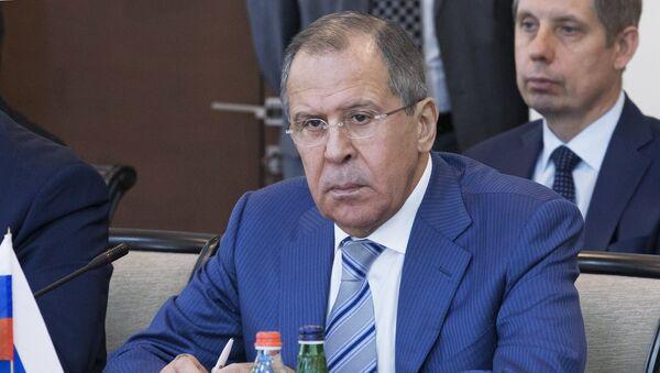 Ministro de Exteriores de Rusia, Serguéi Lavrov - Sputnik Mundo
