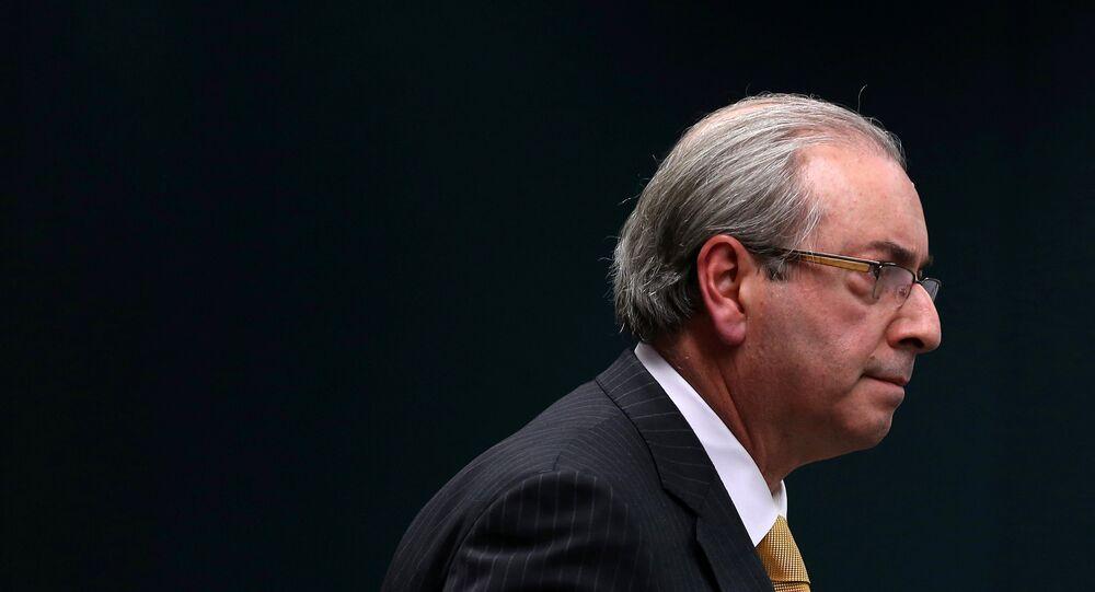 Eduardo Cunha, expresidente de la Cámara de Diputados