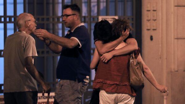 Situación en Niza tras el ataque con un camión - Sputnik Mundo