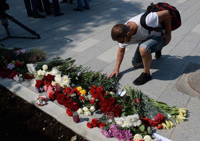 Homenaje a las víctimas del atentado en Niza