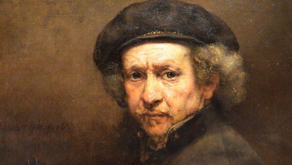 Rembrandt, autorretrato, óleo de 1659 - Sputnik Mundo