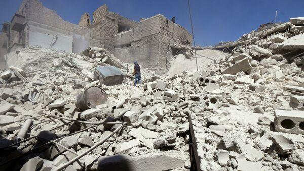 Ruinas en Alepo - Sputnik Mundo