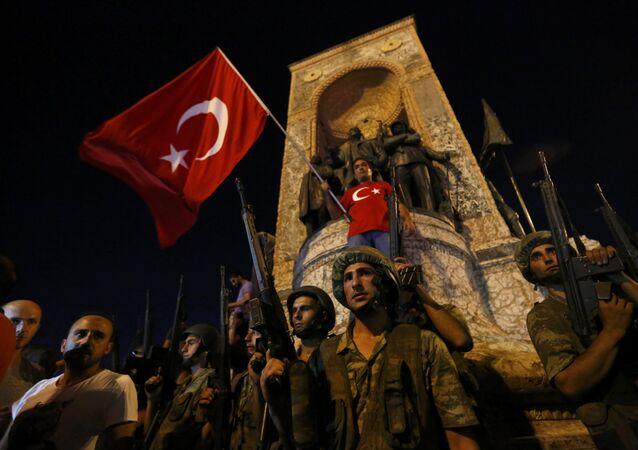 Situación en Estambul tras el intento del golpe de Estado
