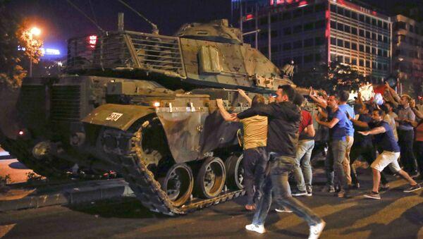 Situación en Ankara - Sputnik Mundo