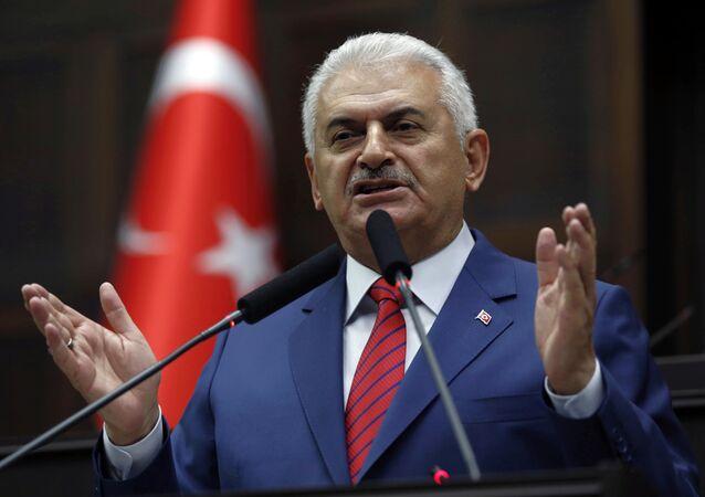 El primer ministro de Turquía, Binali Yildirim (archivo)
