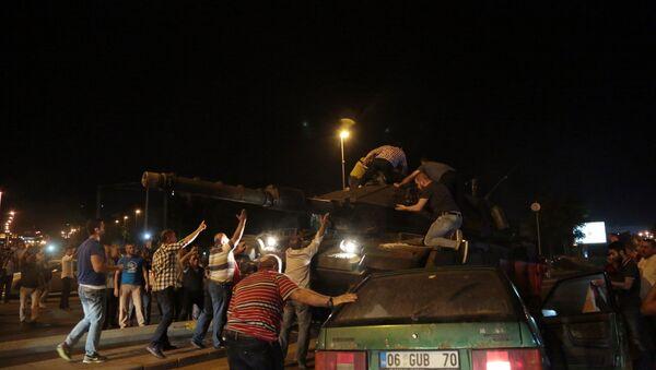 Turkey Military Coup - Sputnik Mundo
