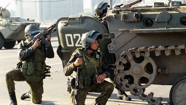 Los militares del grupo antiterrorista Alfa - Sputnik Mundo