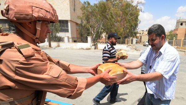 Ayuda humanitaria para Siria de Rusia - Sputnik Mundo