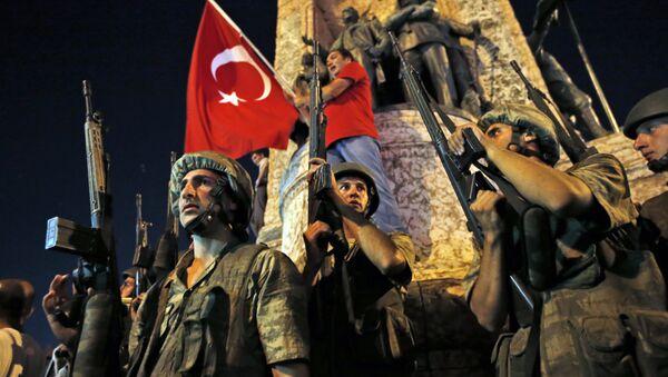 Golpe de estado en Turquía - Sputnik Mundo