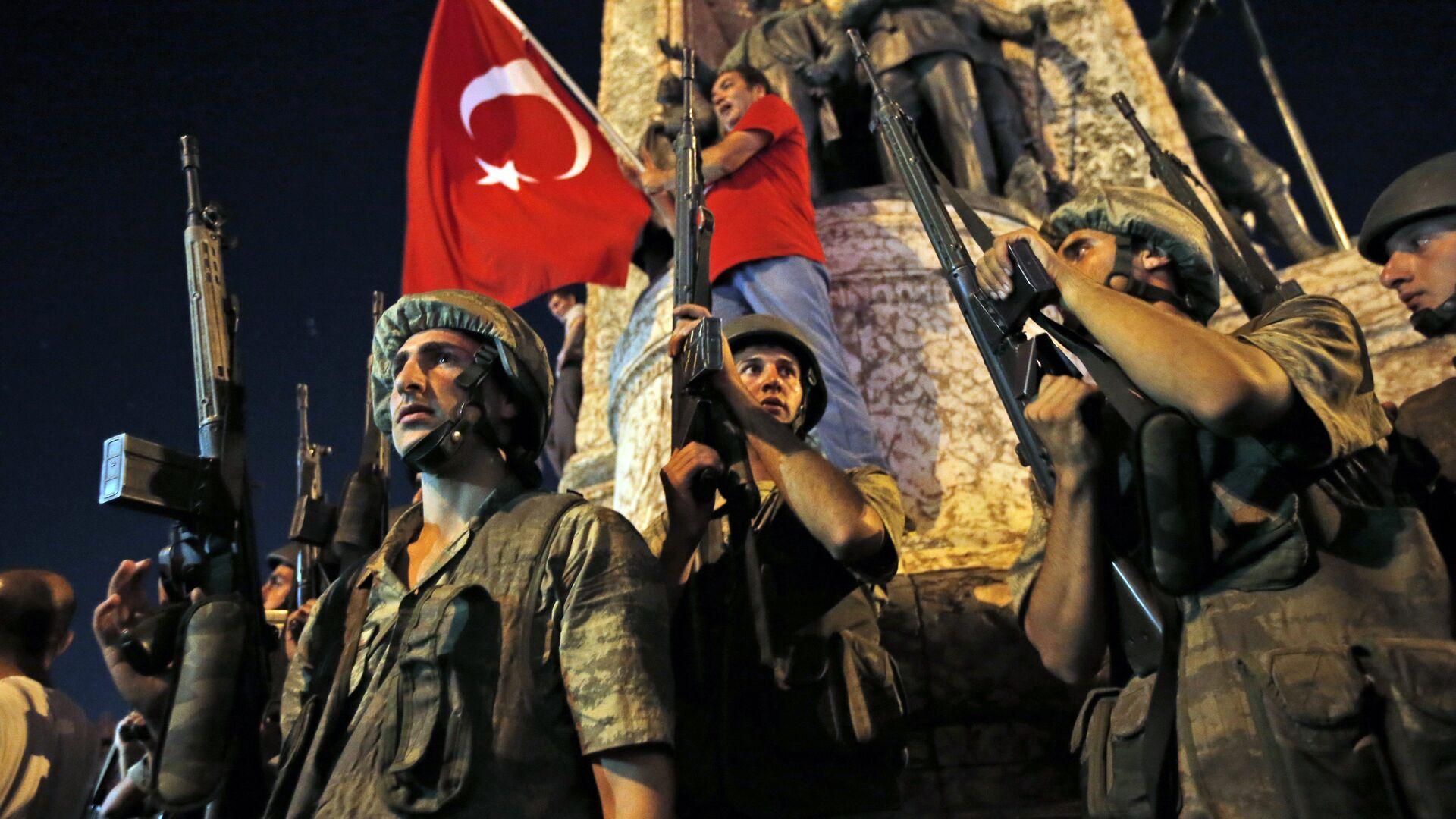 Golpe de estado en Turquía - Sputnik Mundo, 1920, 15.07.2021