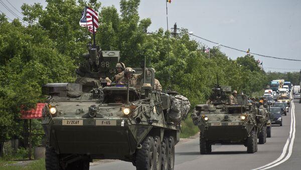 Veículos armados de EEUU - Sputnik Mundo