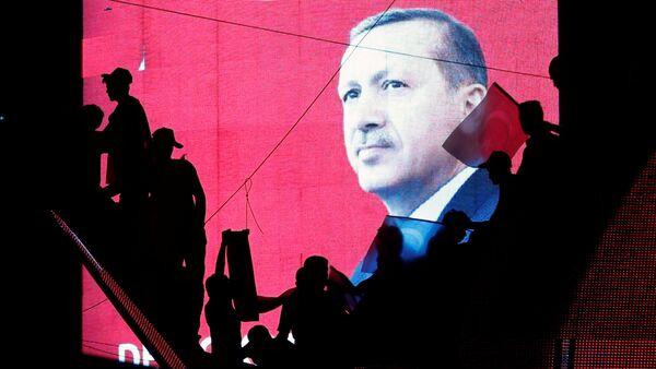 Recep Tayiip Erdogan, el presidente de Turquía - Sputnik Mundo
