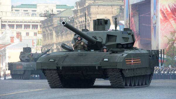 Tanque ruso Armata - Sputnik Mundo