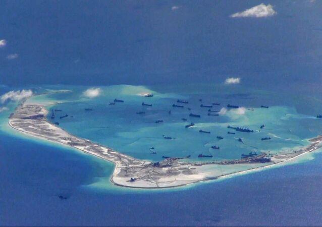Tensión en el Mar del Sur de China (archivo)